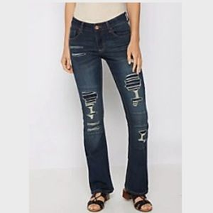Rue 21 Destroyed boot cut jean-size 4
